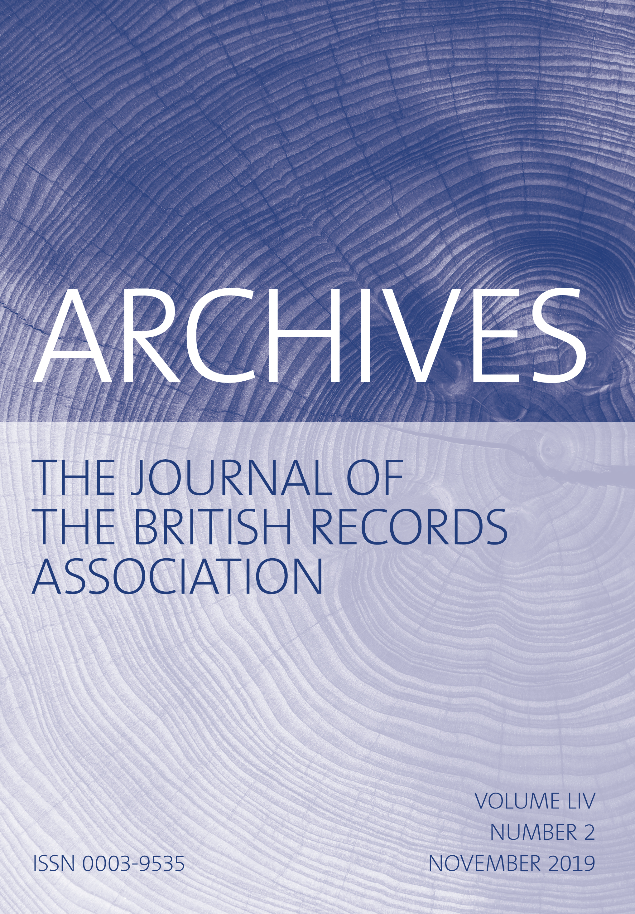 Archives: The Journal of the British Records Association